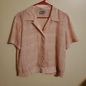 Vintage   Light Pink Blouse